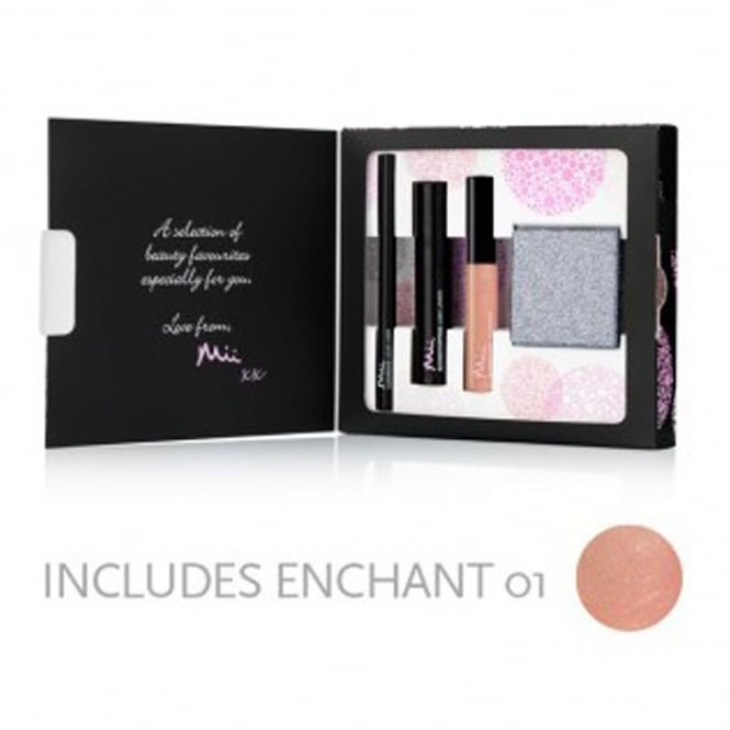 Mii Cosmetics Beauty Favourites Christmas Gift Set Collection 4 - From Mii To You (3 Piece Set + Grey Mirror)