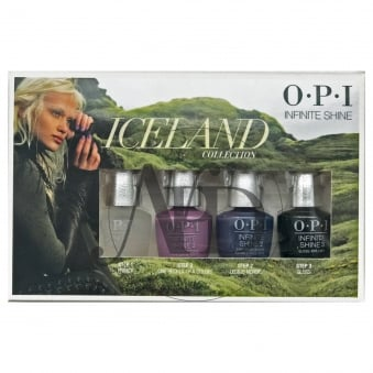 Mini 4 Pack - Iceland 2017 Nail Polish Infinite Shine 10 Day Wear