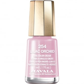 Mini Color Creme Effect Nail Polish - Lilac Orchid (254) 5ml