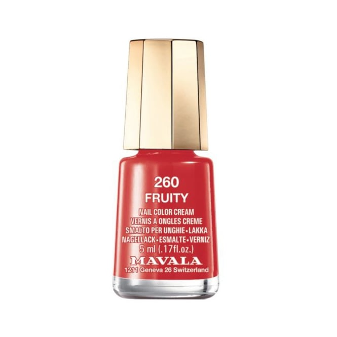 Mavala Mini Color Creme Gel Effect Nail Polish - Fruity (260) 5ml