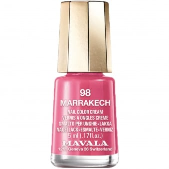 Mini Color Creme Gel Effect Nail Polish - Marrakech (98) 5ml
