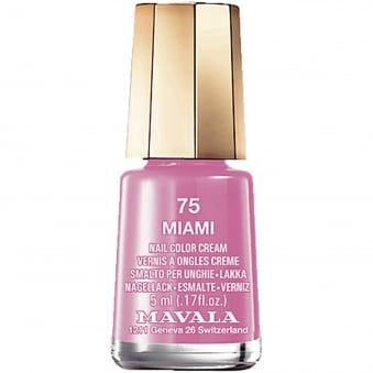 Mini Color Creme Gel Effect Nail Polish - Miami (75) 5ml