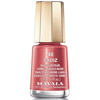 Mini Color Pearl Effect Nail Polish - Cadiz (46) 5ml