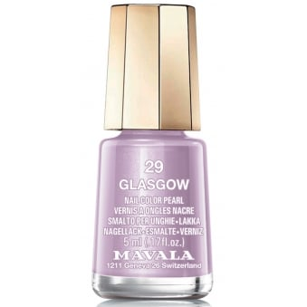 Mini Color Pearl Effect Nail Polish - Glasgow (29) 5ml