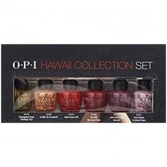 Mini Hawaii Fashion Nail Polish Collection - Top Set (6x 3.75ml)