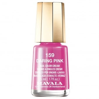 Mini Nail Color Creme Nail Polish - Daring Pink (159) 5ml