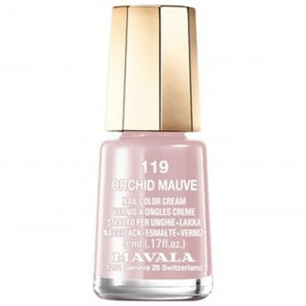Mini Nail Color Creme Nail Polish - Orchid Mauve (119) 5ml
