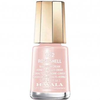 Mini Nail Color Creme Nail Polish - Rose Shell (162) 5ml