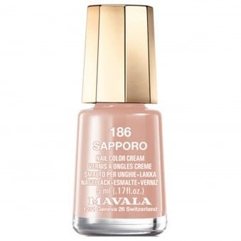 Mini Nail Color Creme Nail Polish - Sapporo (186) 5ml