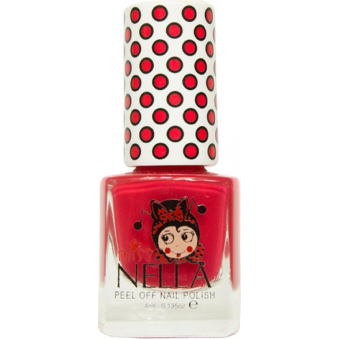 Miss Nella Nail Polish For Kids - Cherry Macaroon 4ml