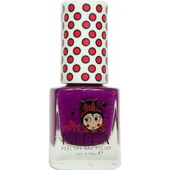 Miss Nella Nail Polish For Kids - Jazzberry Jam 4ml