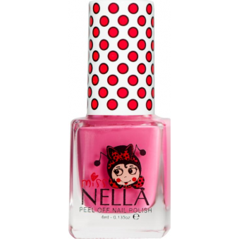 Miss Nella Nail Polish For Kids - Pink A Boo 4ml