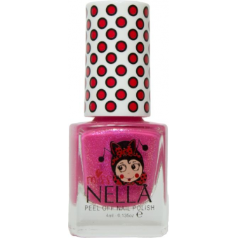 Miss Nella Nail Polish For Kids - Tickle Me Pink 4ml