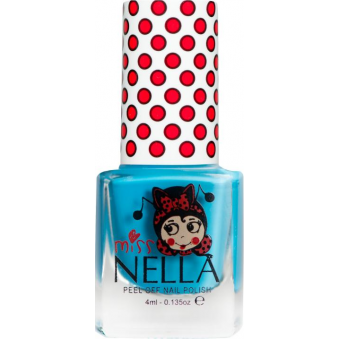 Miss Nella Nail Polish For Kids - Mermaid Blue 4ml