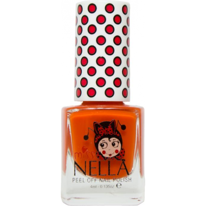 Black Poppy Nail Polish: Miss Nella Nail Polish For Kids