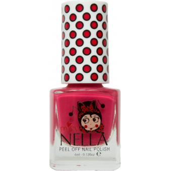 Miss Nella Nail Polish For Kids - Strawberry N Cream 4ml