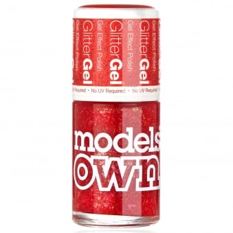 GlitterGel Gel Effect Nail Polish- Red Carpet (14ML) (SG047)