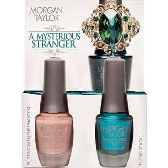 Morgan Taylor - A Mysterious Stranger - A Duo Nail Polish Pack (2 x 15ml)