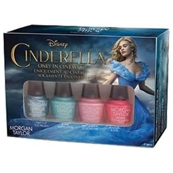 Cinderella Nail Polish Collection 2015 - 4-Piece Mini Set (x4 4ml bottles)