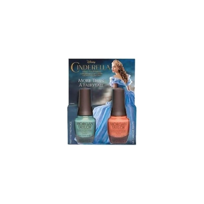 Morgan Taylor Cinderella Nail Polish Collection 2015 - More Than a Fairytale! (x2 Duo Set) 2x 15ml