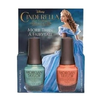 Cinderella Nail Polish Collection 2015 - More Than a Fairytale! (x2 Duo Set) 2x 15ml