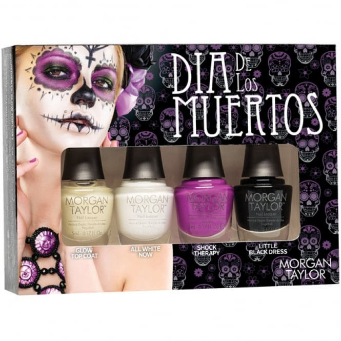 Morgan Taylor Dia De Los Muertos 2016 Halloween Collection - Mini Pack (4 x 5ml) (51314)