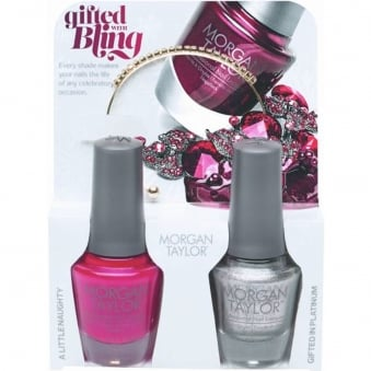 Gifted With Bling (With A Free Gift) - A Duo Nail Polish Pack (2 x 15ml)
