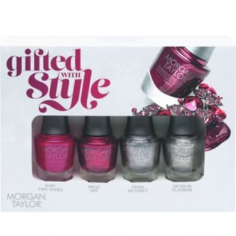 Gifted With Style - A Mini Nail Polish Pack (4 x 5ml)