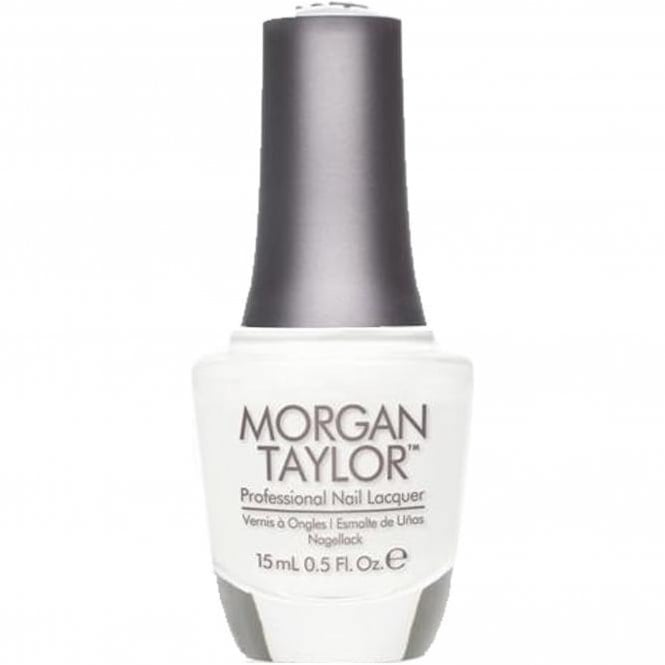 Morgan Taylor Halloween 2015 Nail Polish Collection - All White Now (Creme) 15ml