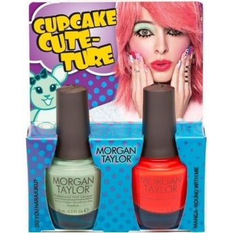 Hello Pretty Nail Polish Collection 2015 - Cupcake Couture Duo (x2 15ml)