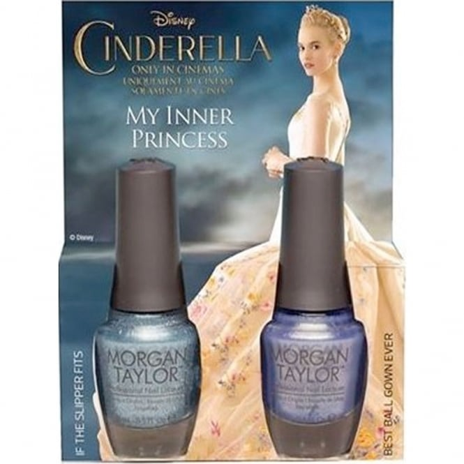 Morgan Taylor My Inner Princess - A Duo Nail Polish Pack (2 x 15ml) (51249)