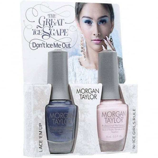 Morgan Taylor The Great Ice-Scape Collection - Dont Ice Me Out - A Duo Nail Polish Pack (2 x 15ml)