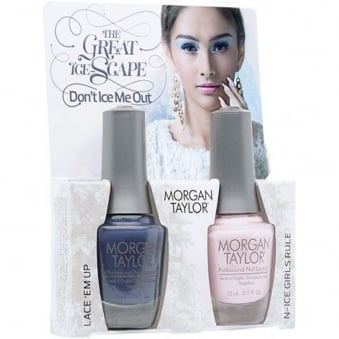 The Great Ice-Scape Collection - Dont Ice Me Out - A Duo Nail Polish Pack (2 x 15ml)