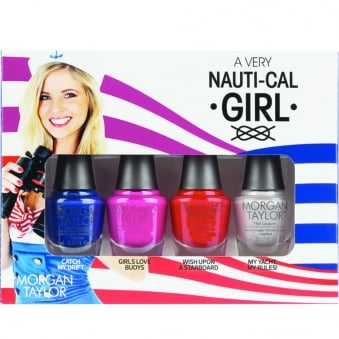 Very Nauti-Cal Girl Collection - Mini Nail Polish Pack (4 x 5ml)