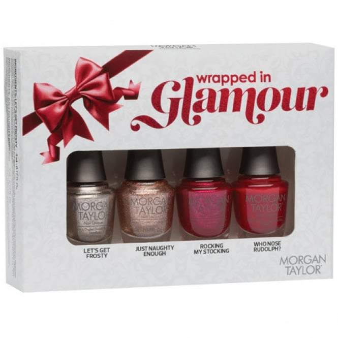 Morgan Taylor Wrapped In Glamour Holiday 2016 Collection - Mini Pack (4 x 5ml)