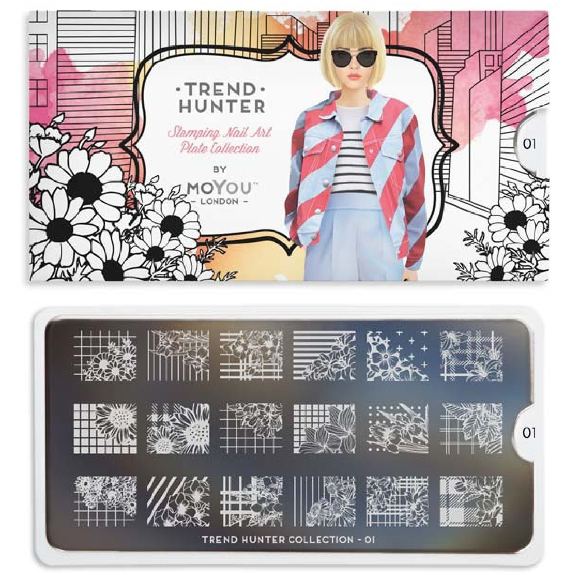 Moyou london nail art image plate trend hunter 01 nail art image plate trend hunter 01 mptre01 prinsesfo Images