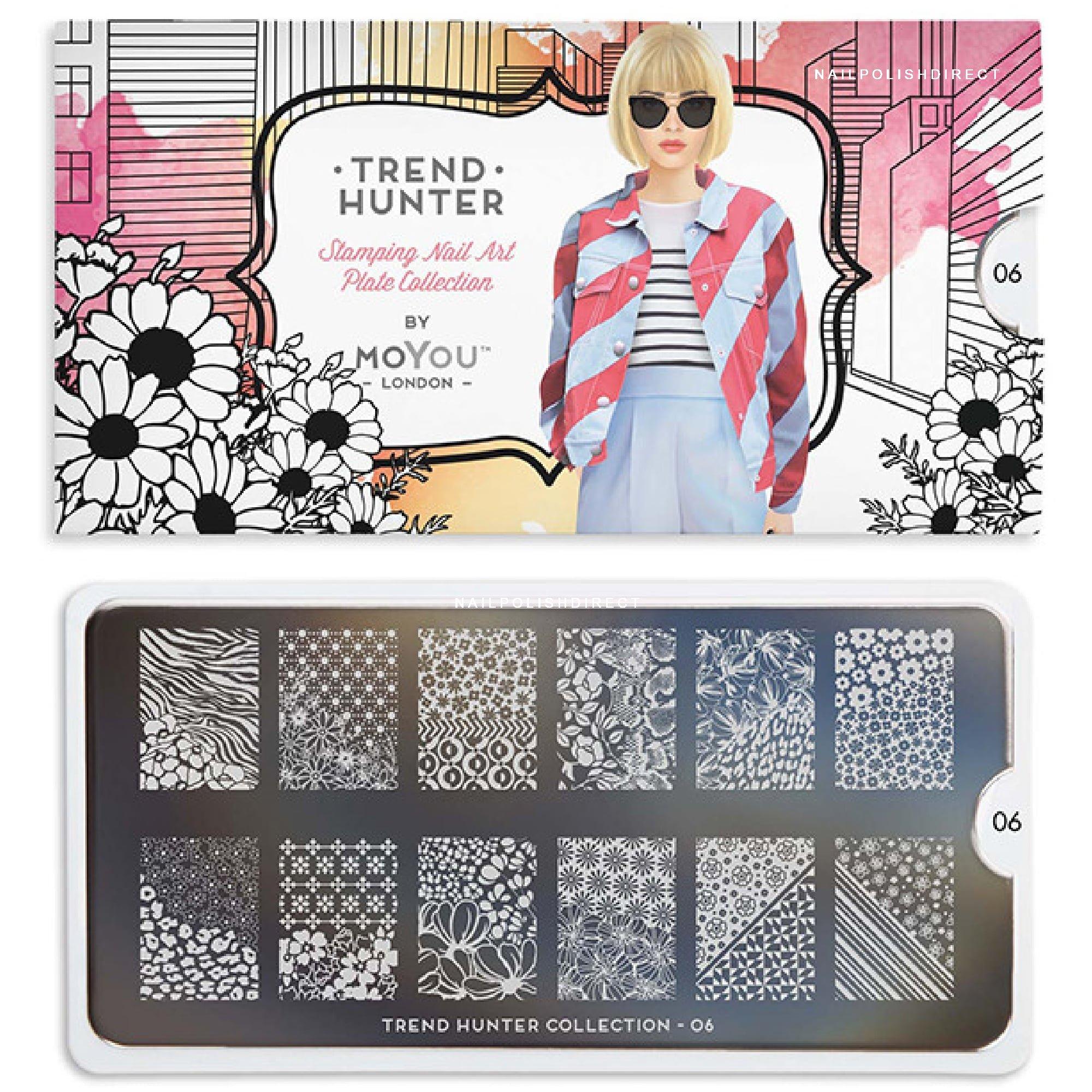MoYou London Nail Art Image Plate - Trend Hunter 06