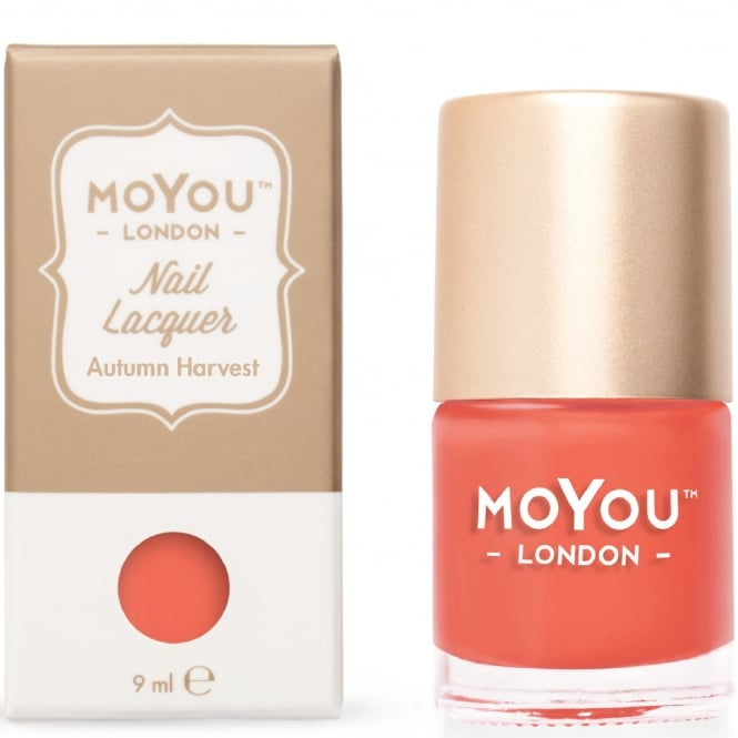 MoYou London Stamping Nail Lacquer - Autumn Harvest 9ml (MN075)
