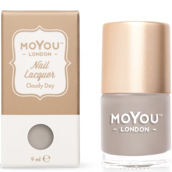 MoYou London Stamping Nail Lacquer - Cloudy Day 9ml (MN090)