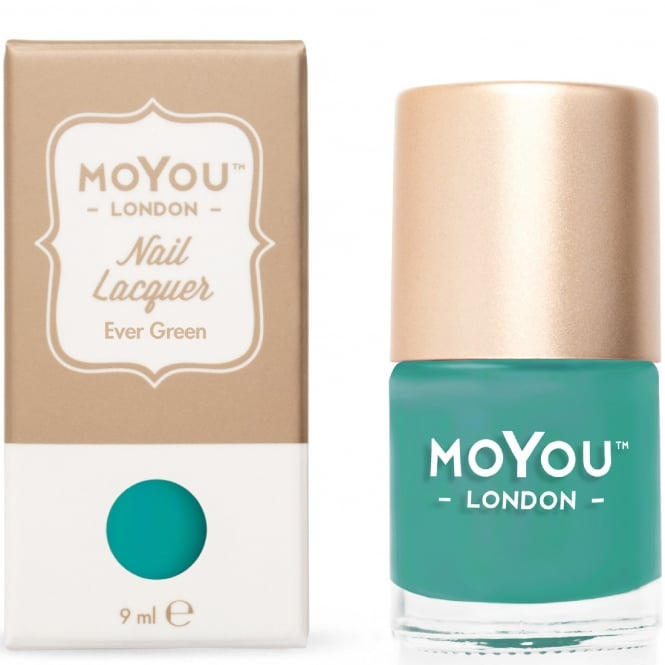 MoYou London Stamping Nail Lacquer - Ever Green 9ml (MN035)