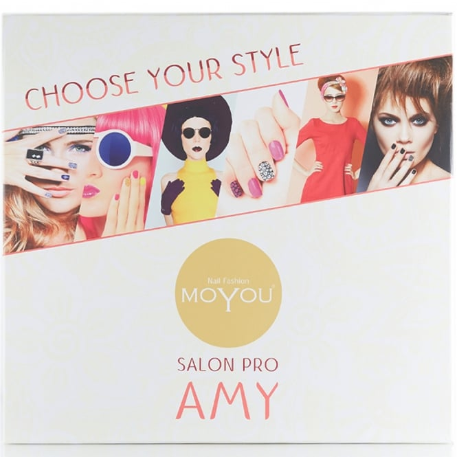 MoYou Salon Pro - Amy Nail Stamping Set