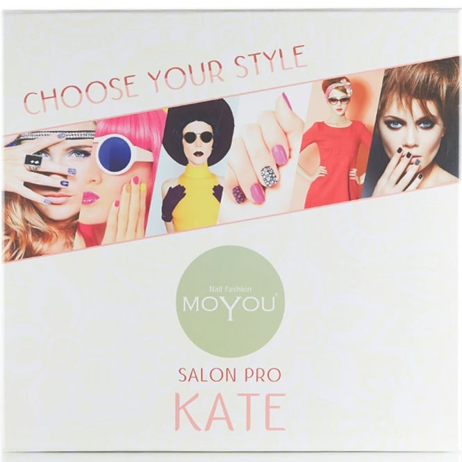 MoYou Salon Pro - Kate Nail Stamping Set