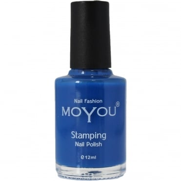 Stamping Nail Art - Special Nail Polish - Blue 12ml