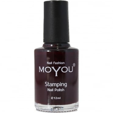Stamping Nail Art - Special Nail Polish - Burgundy 12ml