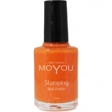 Stamping Nail Art - Special Nail Polish - California Orange 12ml