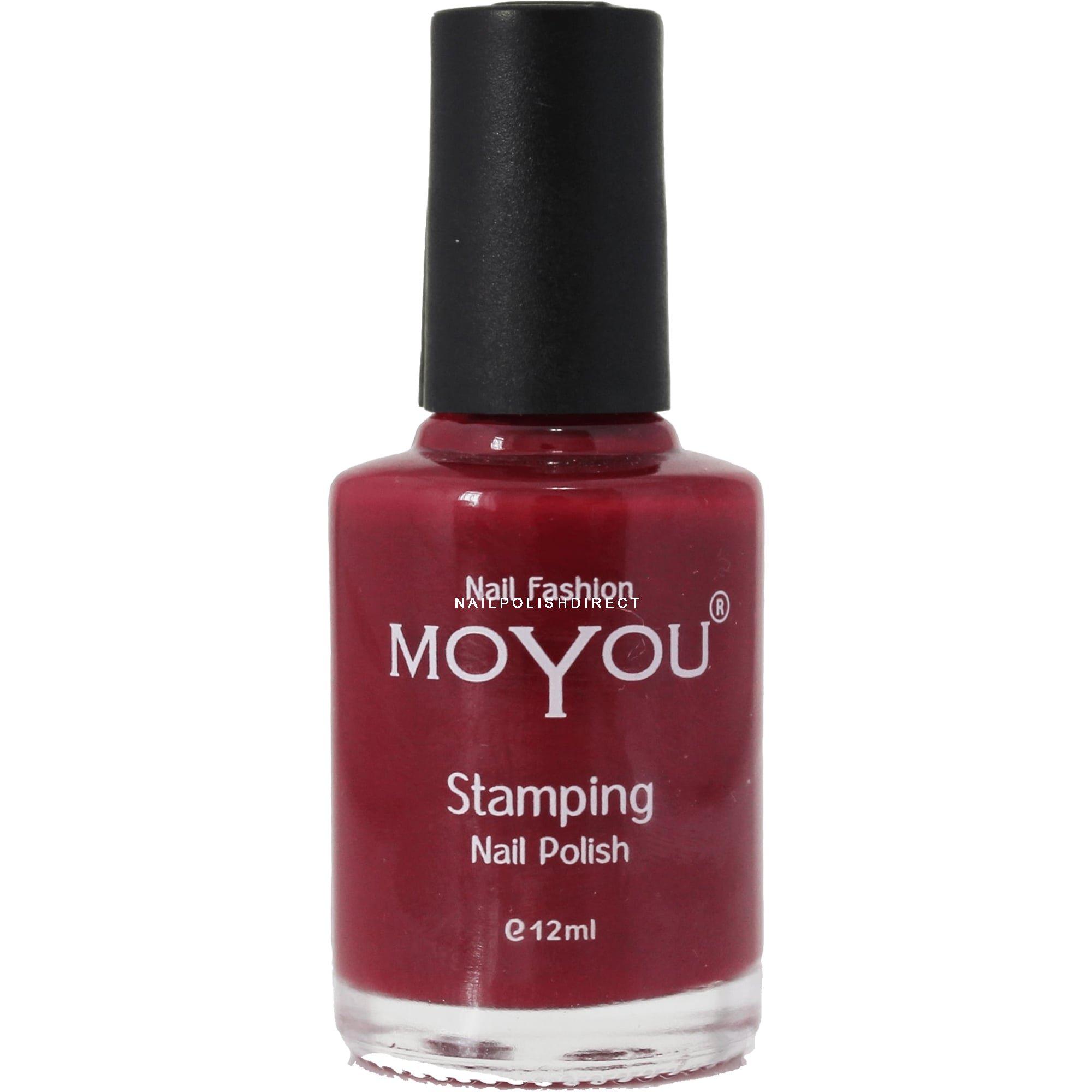 Moyou Stamping Nail Art Special Nail Polish Chestnut Road 12ml