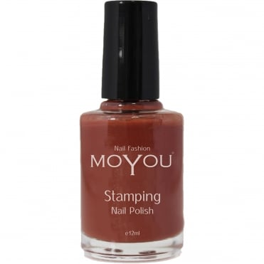 Stamping Nail Art - Special Nail Polish - Chocolate Spice 12ml