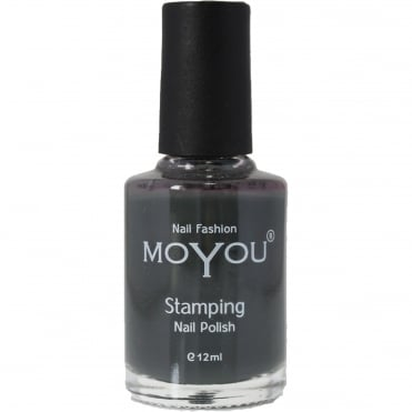 Stamping Nail Art - Special Nail Polish - Down Grey 12ml