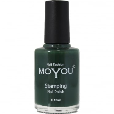 Stamping Nail Art - Special Nail Polish - Forest Green 12ml