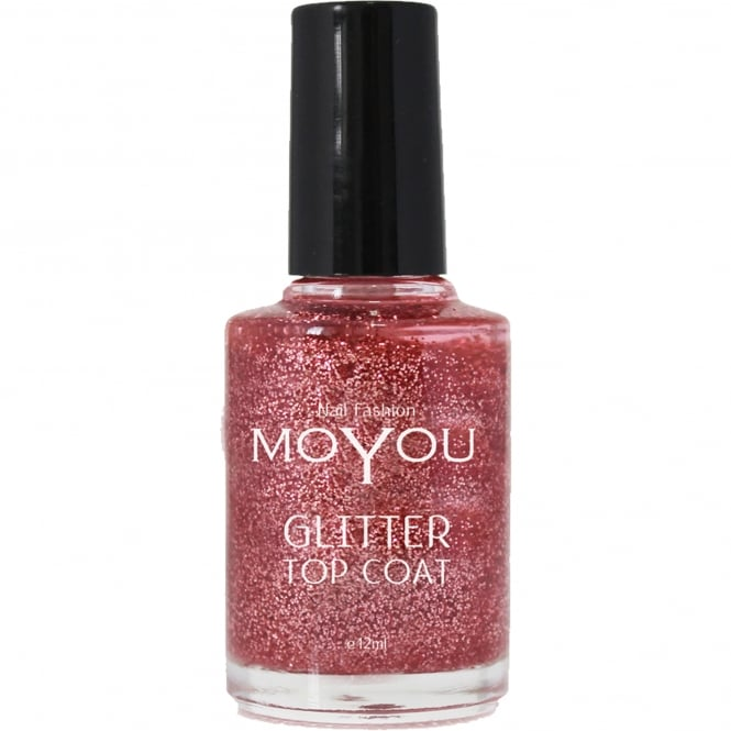 MoYou Stamping Nail Art - Special Nail Polish - Glitter Top Coat 12ml